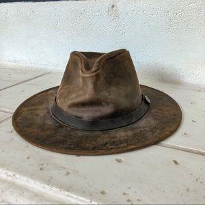 641b8c68 Goorin Bros leather hat
